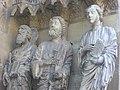 Cathédrale ND de Reims - portail du Jugement Dernier (12).JPG