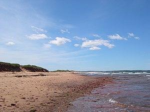 Cavendish, Prince Edward Island - Cavendish Beach in Prince Edward Island National Park