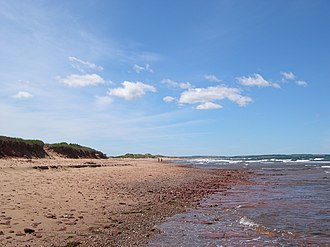 Cavendish, Prince Edward Island - Cavendish Beach in Prince Edward Island National Park