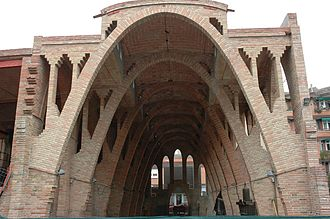Parabolic arch - Parabolic arches in Celler de Sant Cugat