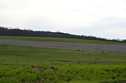 Fields north of Harrisville