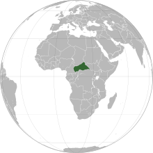Description de l'image  Central African Republic (orthographic projection).svg.