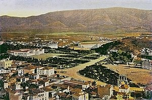Central Athens 1900
