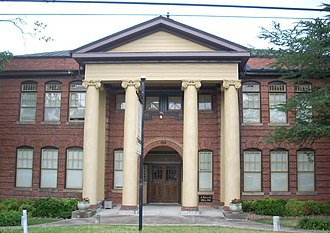National Register of Historic Places listings in Pickens County, South Carolina - Image: Central High School, 304 N. Church St., Central ( Pickens County, South Carolina)