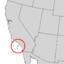 Cercocarpus traskiae range map 3.png