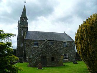 Ceres, Fife - Ceres Church and Lindsay Mausoleum