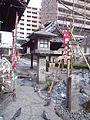 Chôhô-ji Temple Rokkaku-dô - Stone lantern.jpg