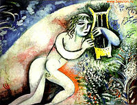 Marc chagall wikipedia for Chagall tableau