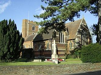 Robert Drury (died 1577) - Church of Chalfont St Peter where Sir Robert Drury is buried