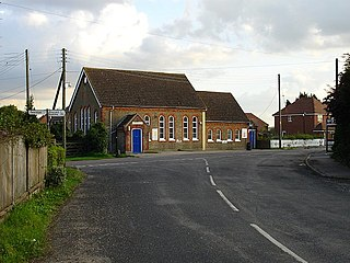 Painters Forstal village in United Kingdom