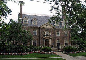 Peabody and Stearns - Image: Chancellor's Residence Pitt