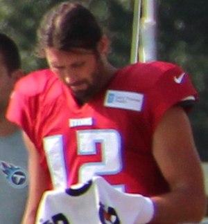 Charlie Whitehurst - Whitehurst with the Tennessee Titans in 2014