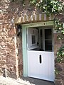 Charming doorway at Dunster - geograph.org.uk - 925226.jpg