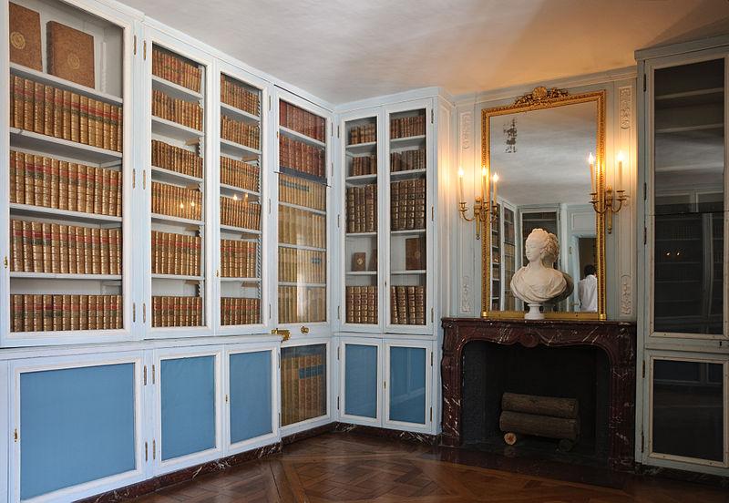 Fichier:Chateau Versailles petit appartement Reine supplement de bibliotheque.jpg