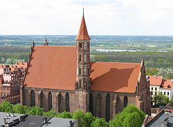 Church of St. James and St. Nicholas - a medieval gothic church in Chełmno.