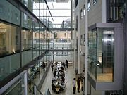 Chemistry Research Laboratory Atrium