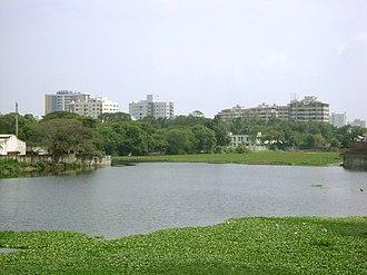 Chetput Lake - Image: Chetput Pond