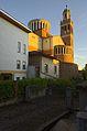 Chiesa del Sacro Cuore, retro - panoramio.jpg