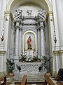 Chiesa di Santa Giustina, interno (Pernumia) 07.jpg