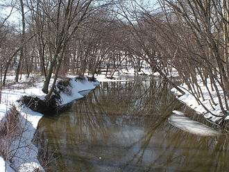 Chillisquaque Creek - Chillisquaque Creek in Derry Township
