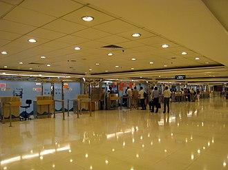 Hong Kong China Ferry Terminal - China Ferry Terminal Departure Hall