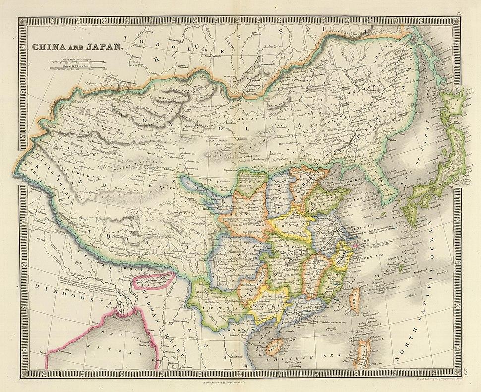 China and Japan, John Nicaragua Dower (1844)
