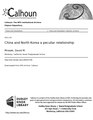China and North Korea a peculiar relationship (IA chinandnorthkore109455784).pdf