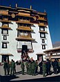 Chinese soldiers on the roof of the Potala, Lhasa, Tibet.jpg