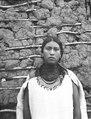 Chiriguanoskönhet. Yacuiba, västliga Chaco, Bolivia. Foto, Erland Nordenskiöld 1913-1914 - SMVK - 004927.tif