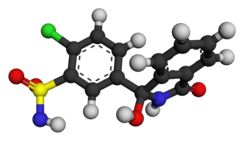 Chlortalidone ball-and-stick 3F4X.png
