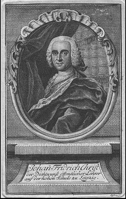 Christ, Johann Friedrich (1700-1756)