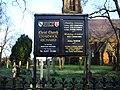 Christ Church, Charnock Richard, Sign - geograph.org.uk - 611169.jpg