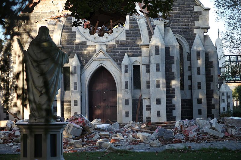 File:Christchurch, New Zealand earthquake of 2011 - Rose Chapel.jpg