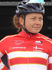Christina Siggaard - 2018 UEC European Road Cycling Championships (Women's road race).jpg