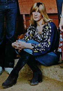 Christine McVie British singer and songwriter, member of Fleetwood Mac