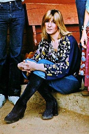 Christine McVie - McVie in 1977.