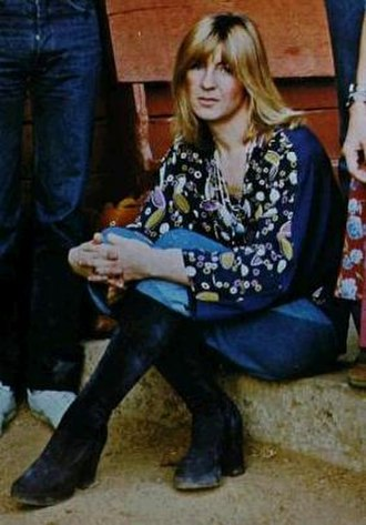 Christine McVie - McVie in 1977.