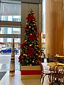 Christmas tree at the 400 George Street foyer, Brisbane 01.jpg