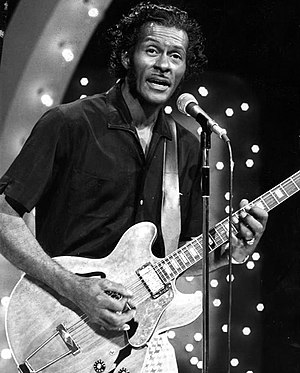 Chuck Berry - Berry as guest host of The Midnight Special in 1973