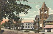 Church & Main Street, Bethlehem, NH