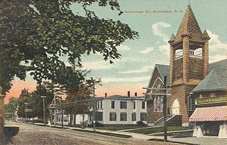 Bethlehem, New Hampshire - Main Street in 1907