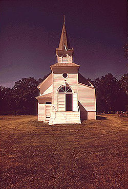 St. Petrie Lutheran church in 1973
