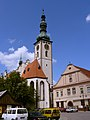 Church in Tábor - panoramio.jpg