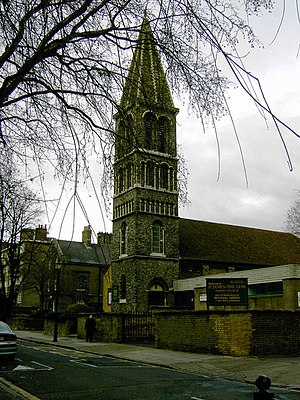 St James-the-Less, Bethnal Green - Image: Church of St James the Less, Bethnal Green geograph.org.uk 794387