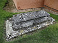 Church of St Mary, Tilty Essex England - churchyard tomb.jpg