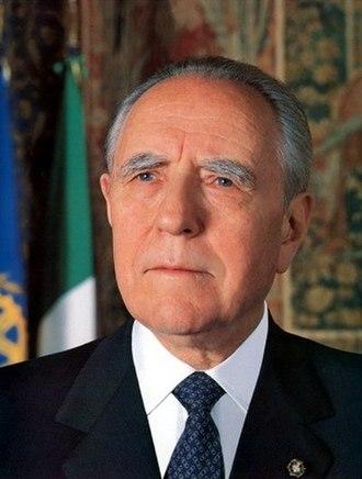 Carlo Azeglio Ciampi - Image: Ciampi ritratto