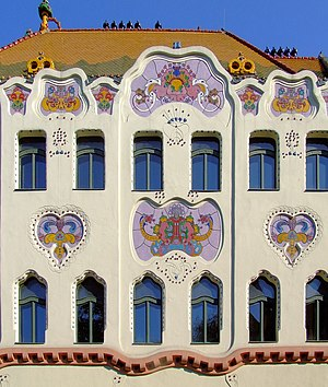 Kecskemét - Hungarian Art Nouveau: Cifrapalota