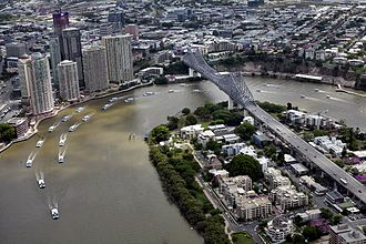 Transdev Brisbane Ferries - The CityCat and CityFerry flotilla returning to the Brisbane River following the January 2011 floods