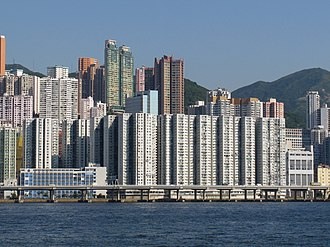 Hongkong Electric Company - City Garden was built on the site of North Point Power Station.