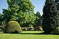 City of London Cemetery - Memorial Gardens lawn and trees 03.jpg